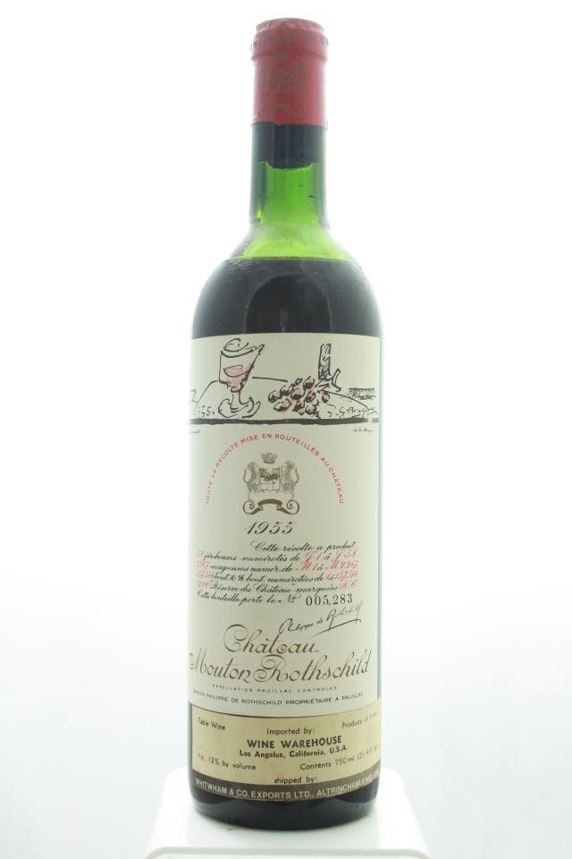 Mouton Rothschild 1955