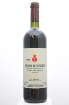 Le Benducce Di Tornesi Rosso di Montalcino 2003