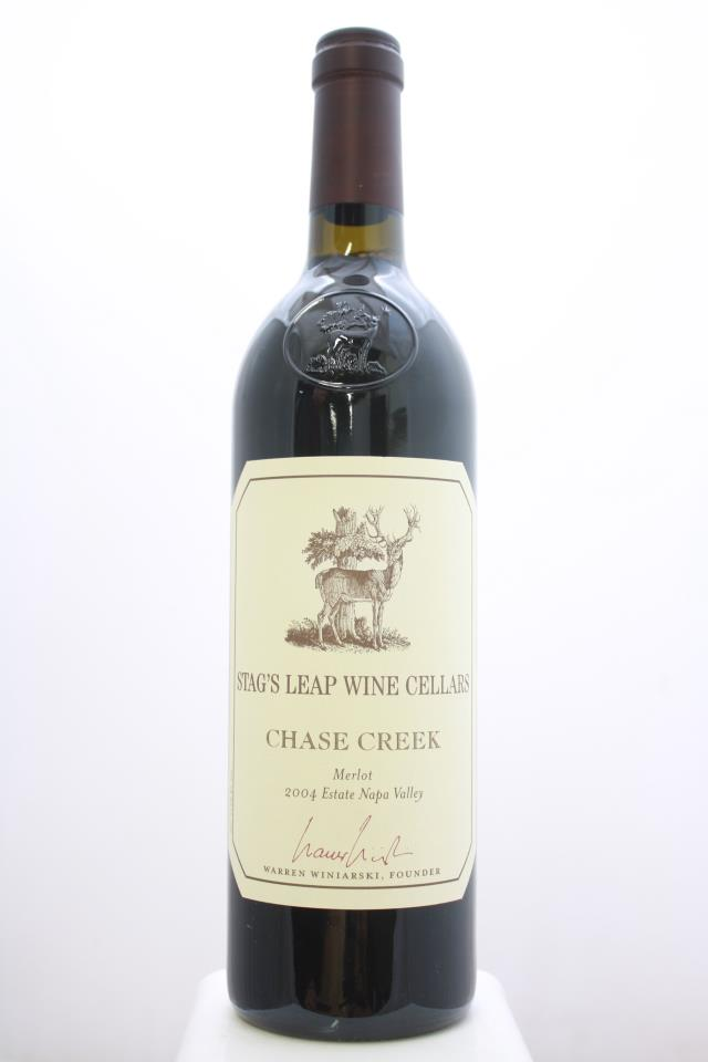 Stag's Leap Wine Cellars Merlot Estate Chase Creek 2004