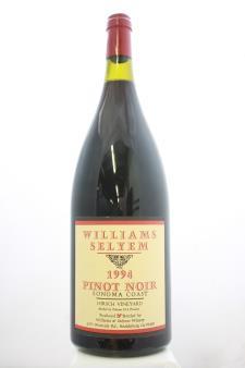 Williams Selyem Pinot Noir Hirsch Vineyard 1994