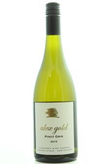Alexandra Wine Company Pinot Gris Alex Gold 2015