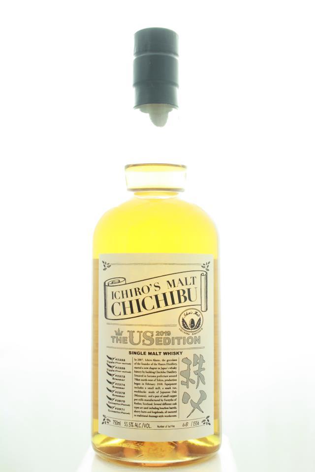 Ichiro's Malt Chichibu Single Malt Whisky The Us Edition 2019