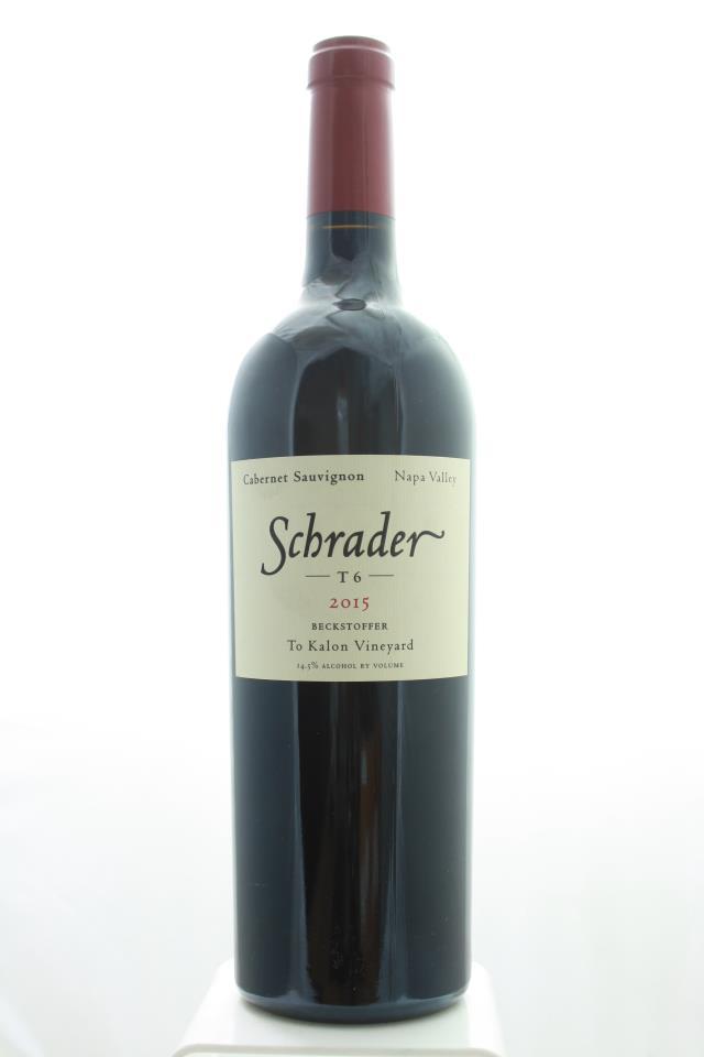 Schrader Cabernet Sauvignon Beckstoffer To Kalon Vineyard T6 2015