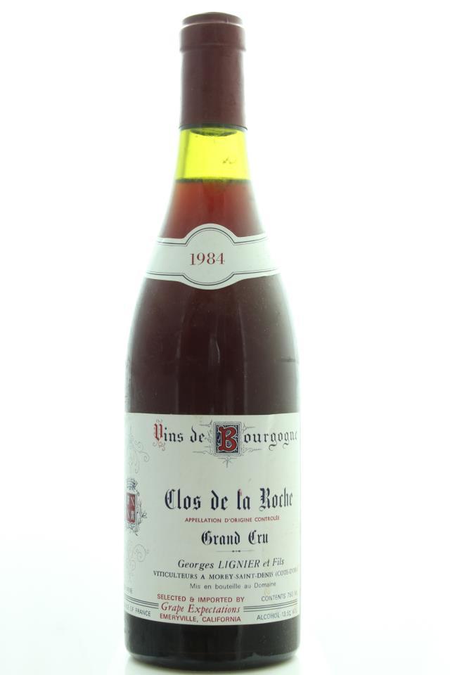 Georges Lignier Clos de la Roche 1984