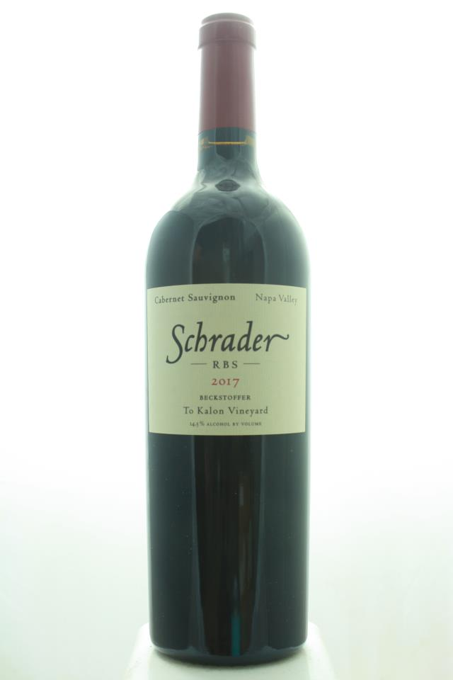 Schrader Cabernet Sauvignon Beckstoffer To Kalon Vineyard RBS 2017