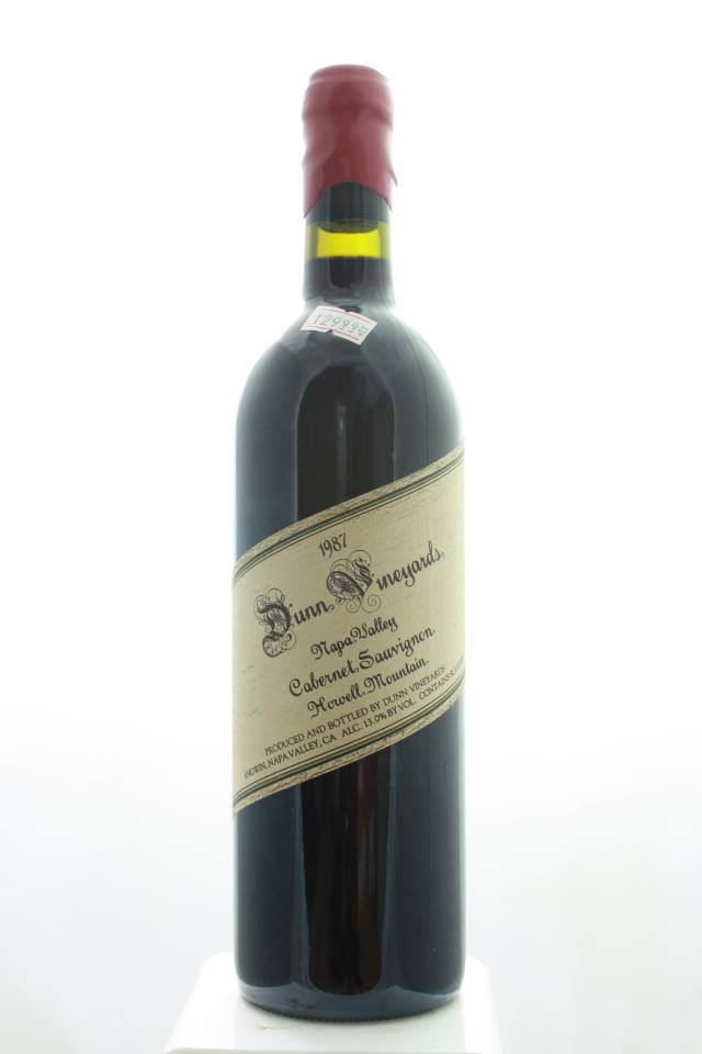 Dunn Cabernet Sauvignon Howell Mountain 1987