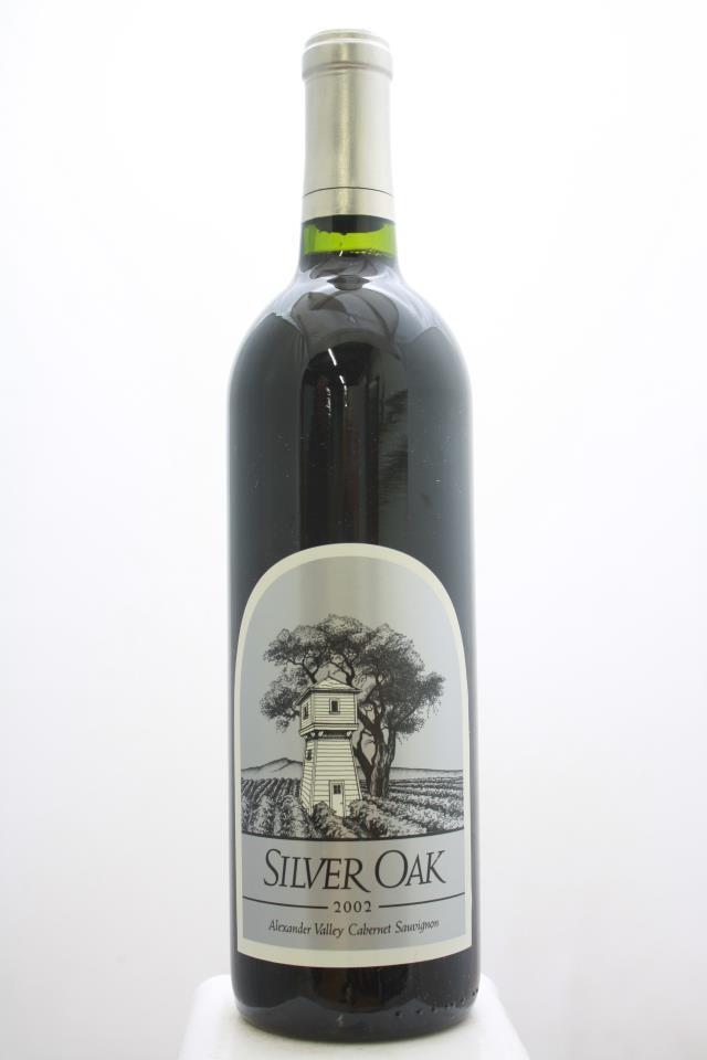 Silver Oak Cabernet Sauvignon Alexander Valley 2002