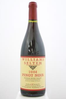 Williams Selyem Pinot Noir Russian River Valley 2004