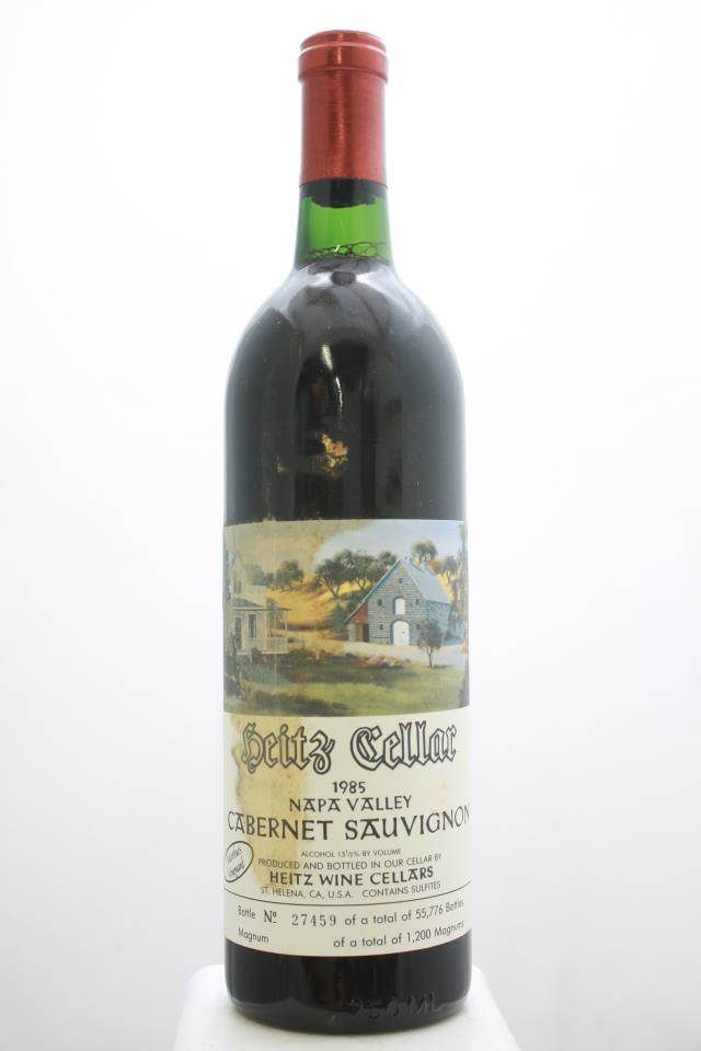 Heitz Cellar Cabernet Sauvignon Martha's Vineyard 1985