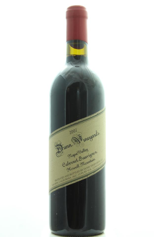 Dunn Cabernet Sauvignon Howell Mountain 2007