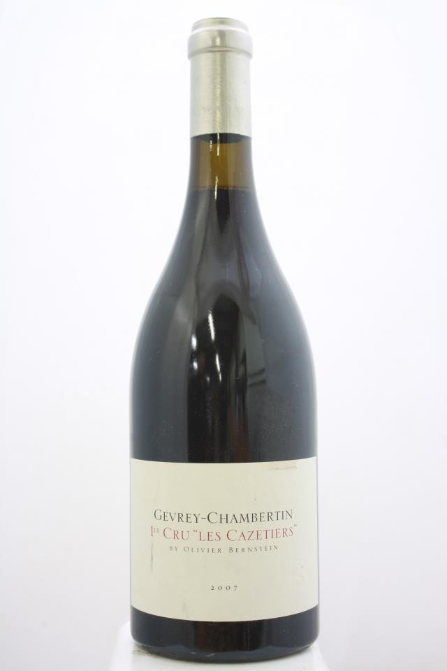 Olivier Bernstein Gevrey-Chambertin Les Cazetiers 2007