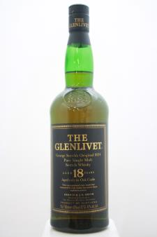 The Glenlivet Single Malt Scotch Whisky 18-Year-Old NV