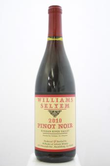 Williams Selyem Pinot Noir Russian River Valley 2010
