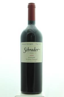 Schrader Cabernet Sauvignon Beckstoffer To Kalon Vineyard CCS 2010