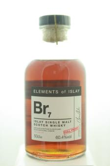 Elixir Distillery (Elements of Islay) Islay Single Malt Scotch Whisky BR7 Full Proof NV