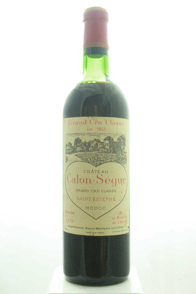 Calon-Ségur 1970