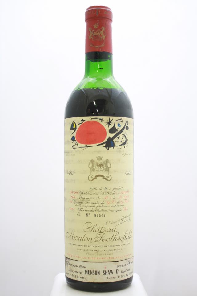 Mouton Rothschild 1969