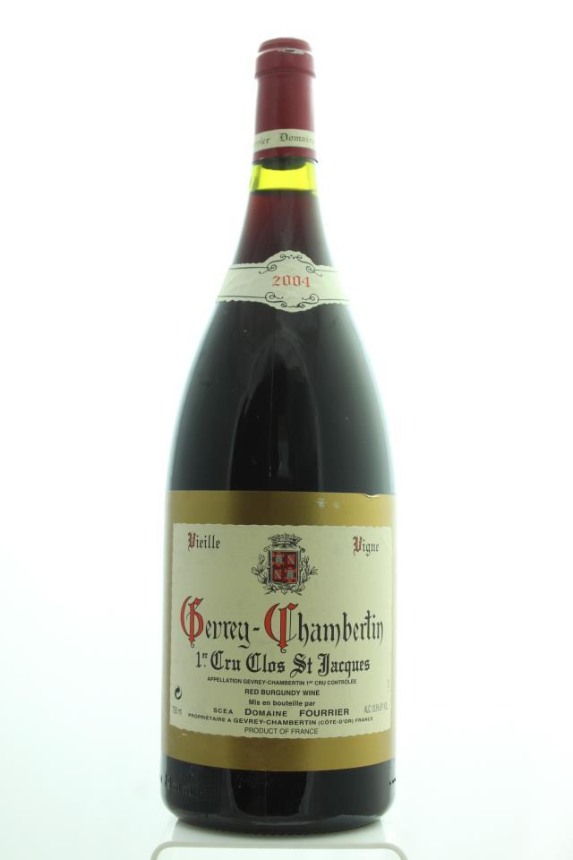 Domaine Fourrier Gevrey-Chambertin Clos Saint Jacques Vieilles Vignes 2004