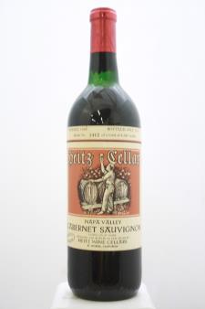 Heitz Cellar Cabernet Sauvignon Martha`s Vineyard 1968