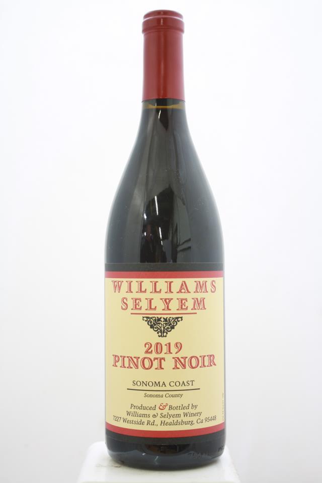 Williams Selyem Pinot Noir Sonoma Coast 2019