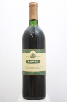 Kunde Estate Zinfandel The Shaw Vineyard 1990
