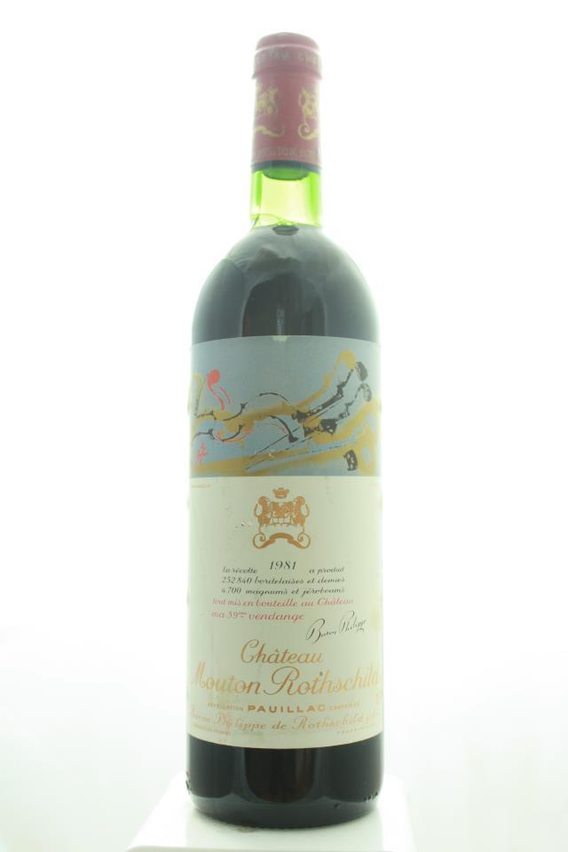 Mouton Rothschild 1981