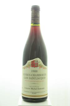 Michel Esmonin Gevrey-Chambertin Clos Saint-Jacques 1988