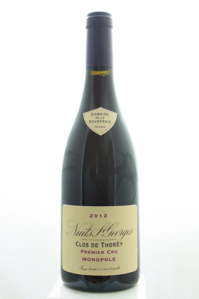 Domaine de la Vougeraie Nuits-Saint-Georges Clos de Thorey 2012