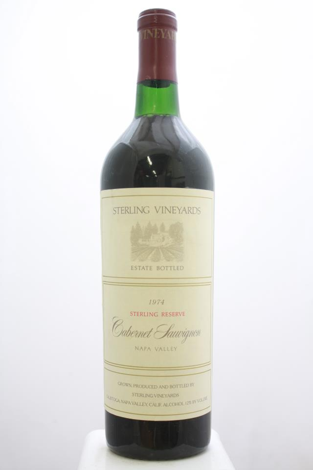 Sterling Vineyards Cabernet Sauvignon Reserve 1974
