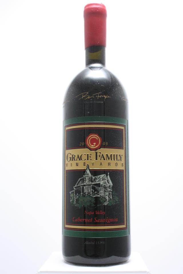 Grace Family Vineyards Cabernet Sauvignon Estate 2003