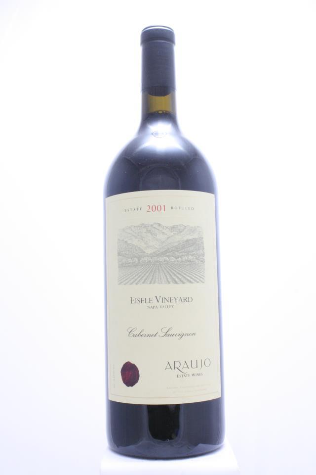 Araujo Estate Cabernet Sauvignon Eisele Vineyard 2001