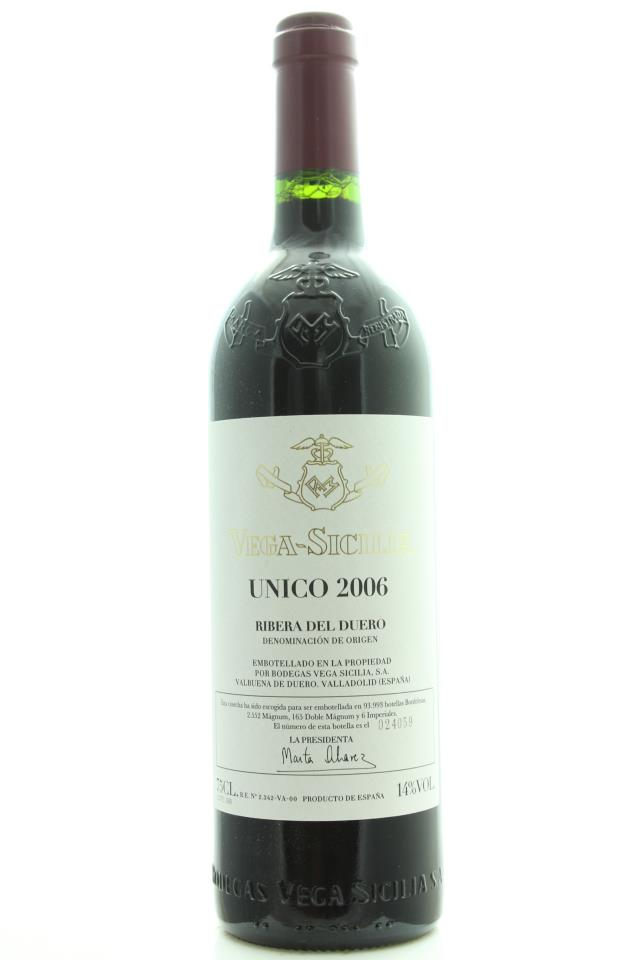 Vega-Sicilia Único 2006