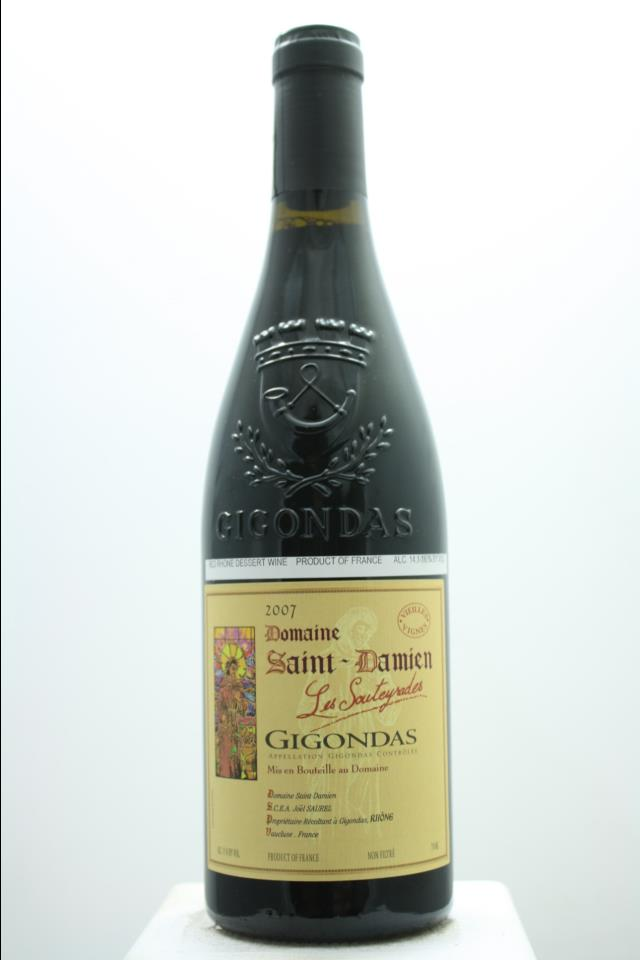 Domaine Saint-Damien Gigondas Les Souteyrades Vieilles Vignes 2007