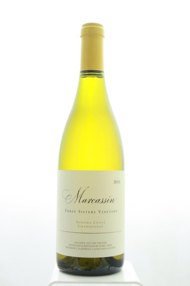 Marcassin Chardonnay Three Sisters Vineyard 2010