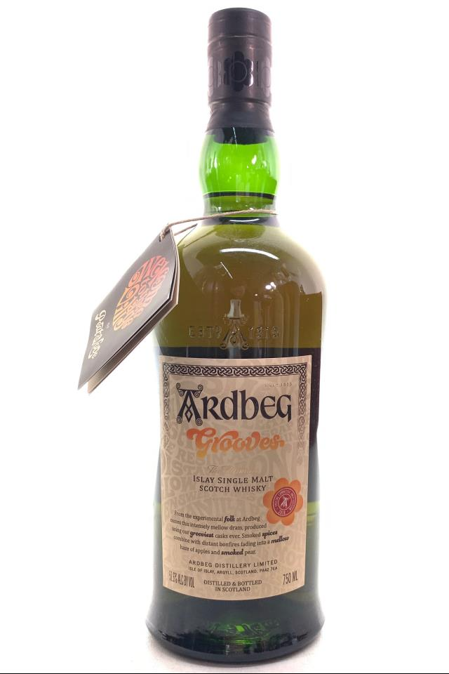 Ardbeg Islay Single Malt Scotch Whiskey Grooves Special Committee Only Edition 2018