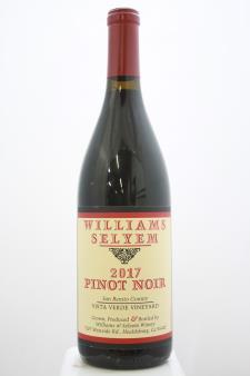 Williams Selyem Pinot Noir Vista Verde Vineyard 2017