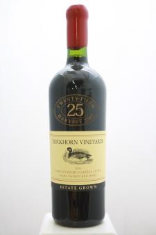 Duckhorn Proprietary Red Estate Grown 25th Harvest Cuvée 2002