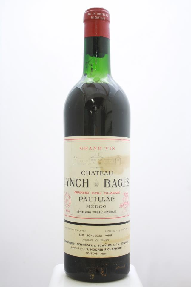 Lynch-Bages 1964