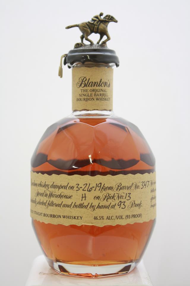 Blanton's Original Single Barrel Bourbon Whisky NV