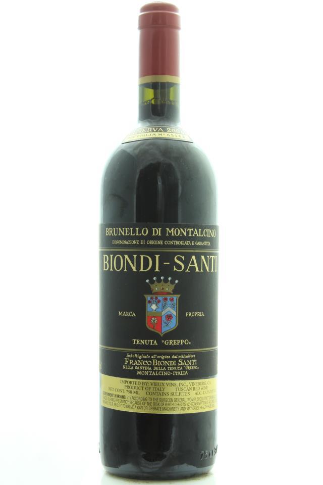 Biondi-Santi (Il Greppo) Brunello di Montalcino Riserva 2004