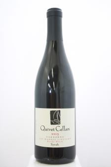 Quivet Cellars Syrah Las Madres Vineyard Hulda Block 2013