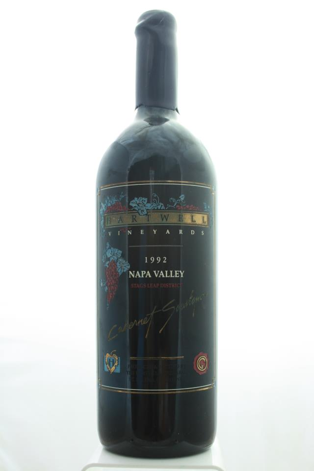 Hartwell Vineyards Cabernet Sauvignon Estate 1992
