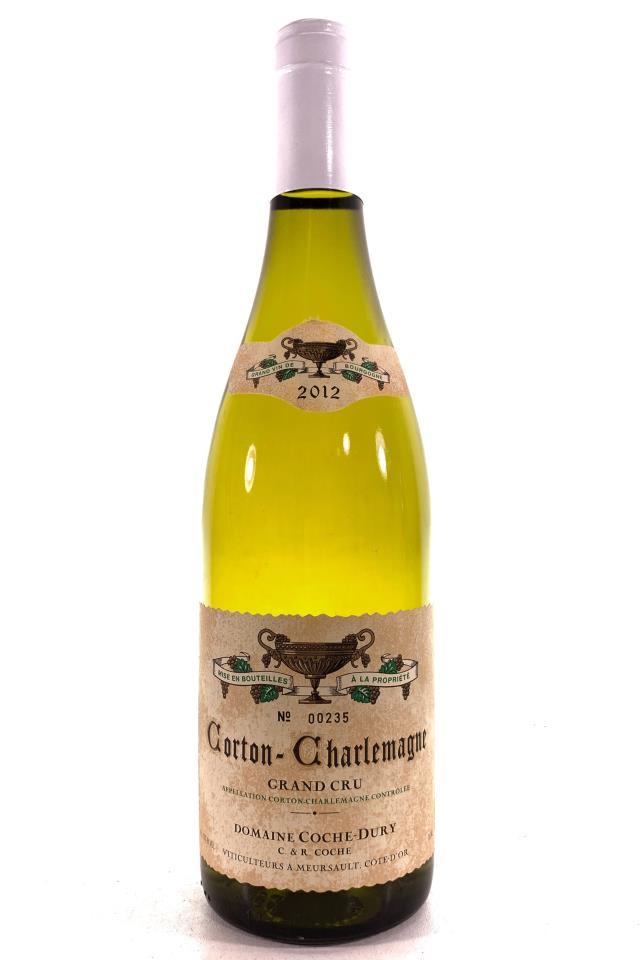 Domaine Coche-Dury Corton-Charlemagne 2012