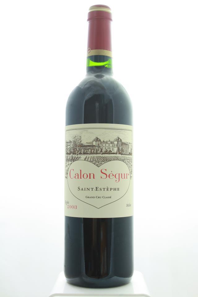 Calon Ségur 2003