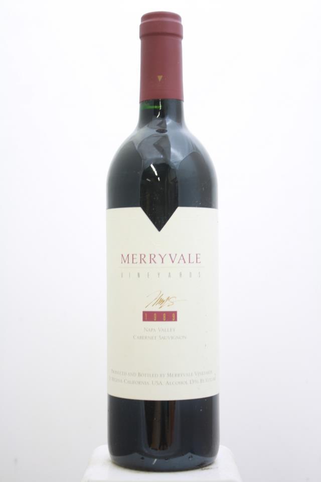 Merryvale Vineyards Cabernet Sauvignon Napa Valley 1989