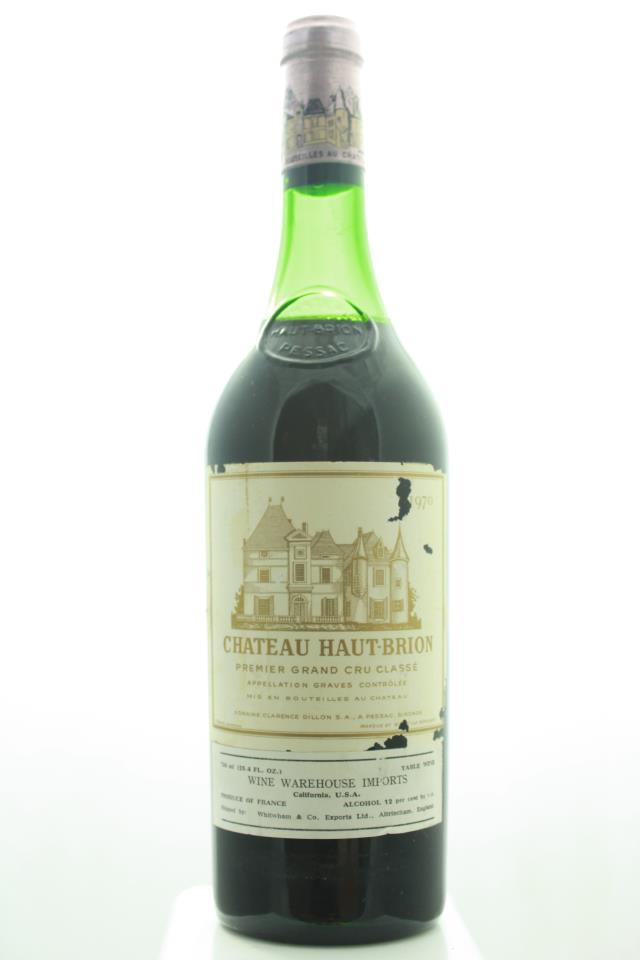 Haut-Brion 1970