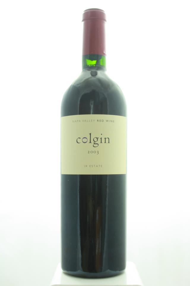 Colgin Proprietary Red IX Estate 2003