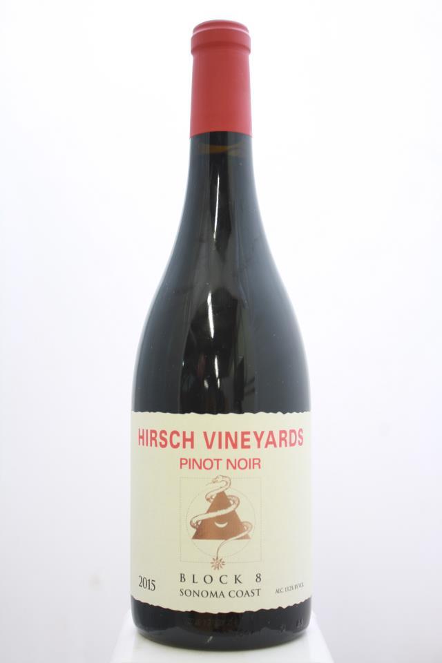 Hirsch Vineyards Pinot Noir Estate Block 8 2015