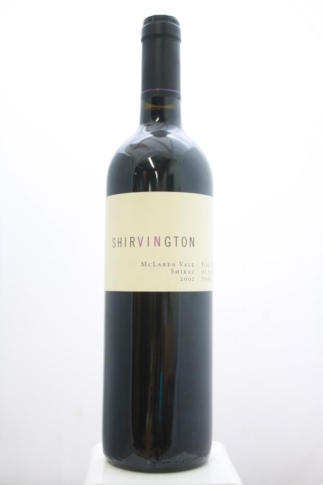 Shirvington Shiraz 2002