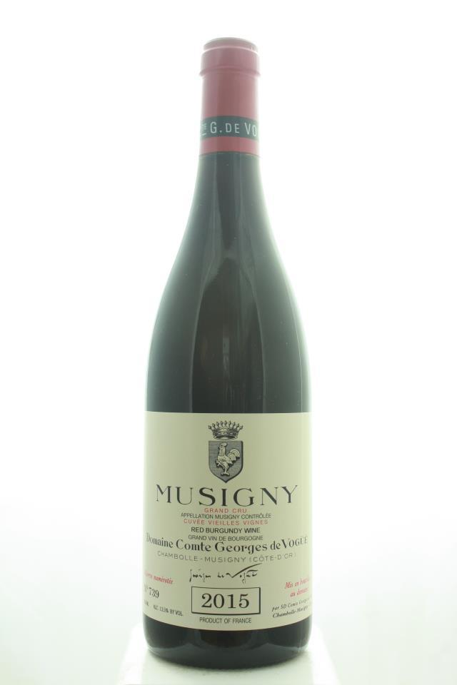 Comte Georges de Vogüé Musigny Cuvée Vieilles Vignes 2015